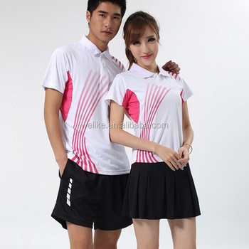 2014 couple 39 s polo shirt latest skirt and blouse badminton for Couple polo shirts online