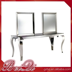 LED light beauty salon mirror for salon furniture or beauty salon wall mirrors