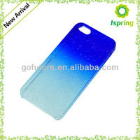 Factory supply, plastic water-drop design cell phone protective shell,custom color change back cover for iphone 5