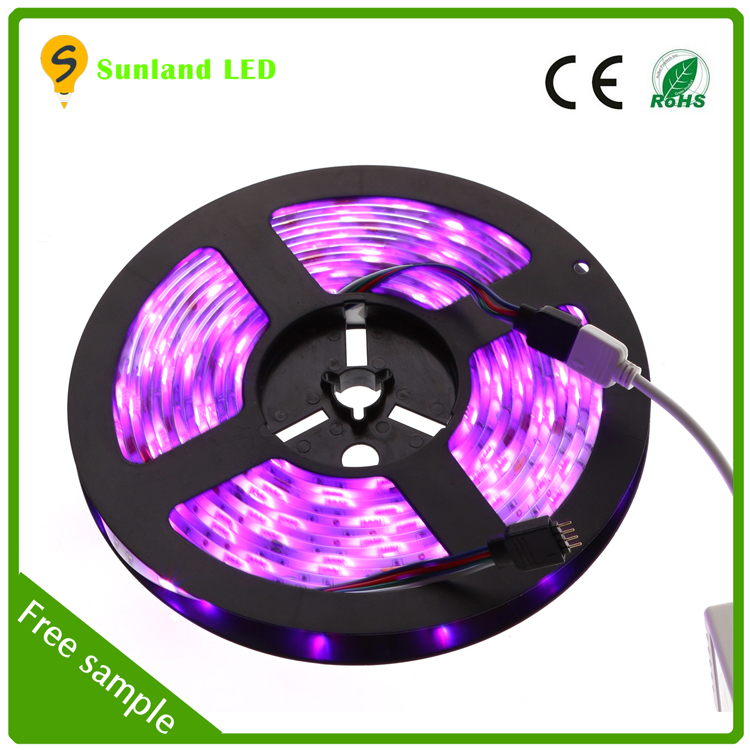 Factory Supply 30LEDS/M 60 LEDS/M Waterproof RGB SMD5050 Led Strip Light