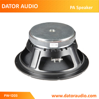 "12""P audio pro audio midwoofer speaker"