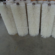 "36"" length white Poly wire Snow Cleaning Roller Brush For Road Sweeper"