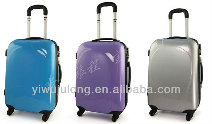 2014 Pure Color Hardshell Trolley Luggage Sets/ Travel luggage bag in China
