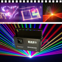 Professional dj equipment 3w -3.5W RGYB Red+Green+Yellow+Blue+white+pink Laser Light Projector dj laser show system