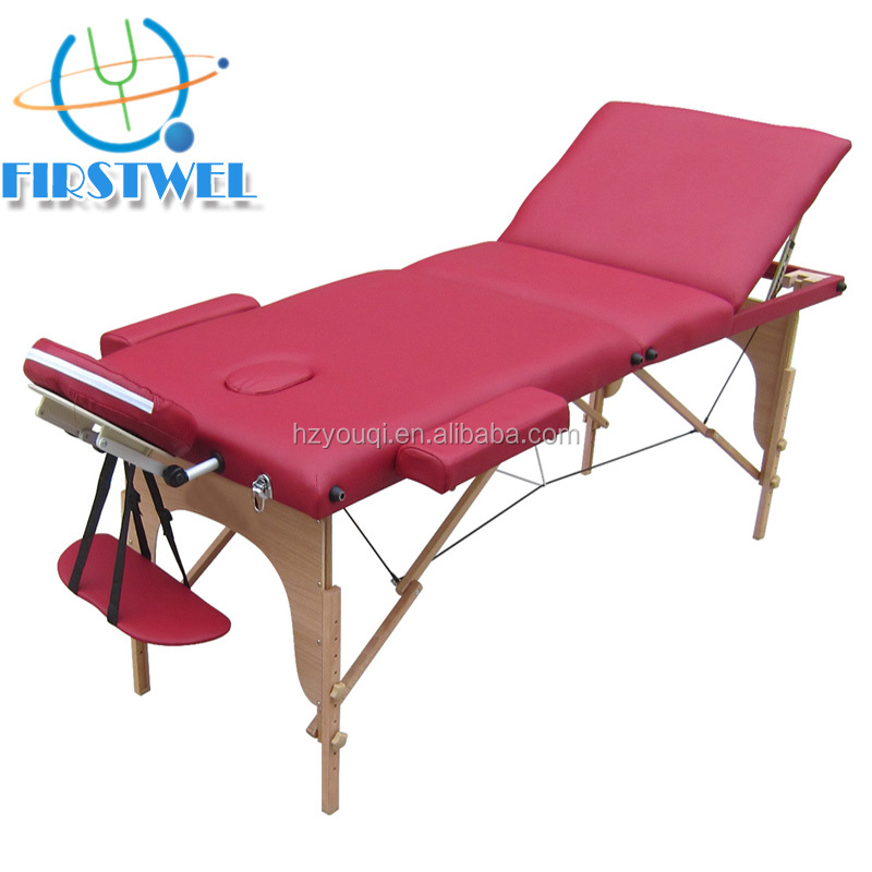 Spa Massage Bed / Adjustable Salon Facial Bed /Folding Massage Table for sale