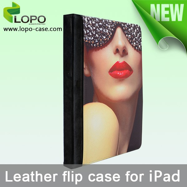 Design your own sublimation leather cover for ipad air 2