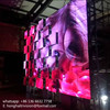 movable matrix dot stage backdrop popping led screen