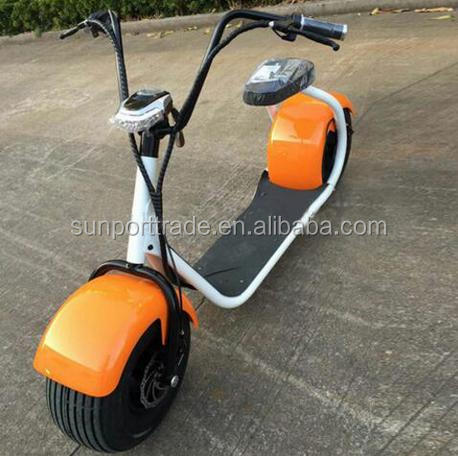 Cheap electric step scooter harley 2016 hot harley 2 wheel 2 seat electric scooter 60V12AH rocket electric bike robstep electric