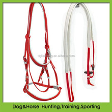 wholesale horse bridles with single noseband and matched rein PVC factory