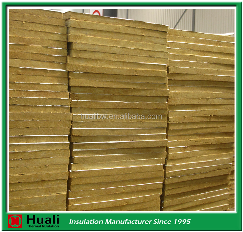 Best Price Heat Insulation Waterproof Rock Wool Board for Walls and Ceilings