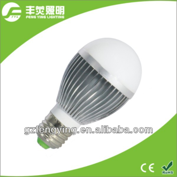 3w 5w 7w 9w wholesale E27 led light bulb plastic +aluminum E27 bulb