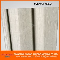 Decorative external pvc vinyl siding/exterior wall cladding
