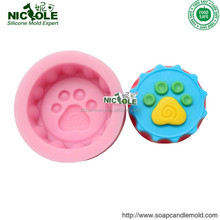 R1345 new forms for soap making Silicone soap form small foot soap forms