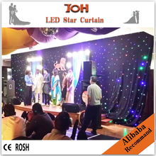 Wedding decoratiion supplies,led backdrop cloth for wedding/party decoration
