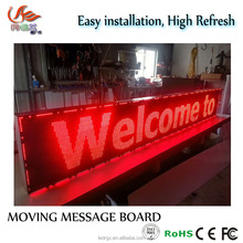 RGX Programmable led message board,Remote controller led moving message sign LED Moving Message Display Sign Board panel