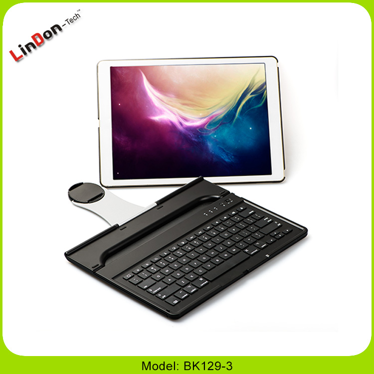 For iPad Pro Tablet Keyboard Case Mini Wireless Bluetooth Keyboard With Swivel Rotate Case