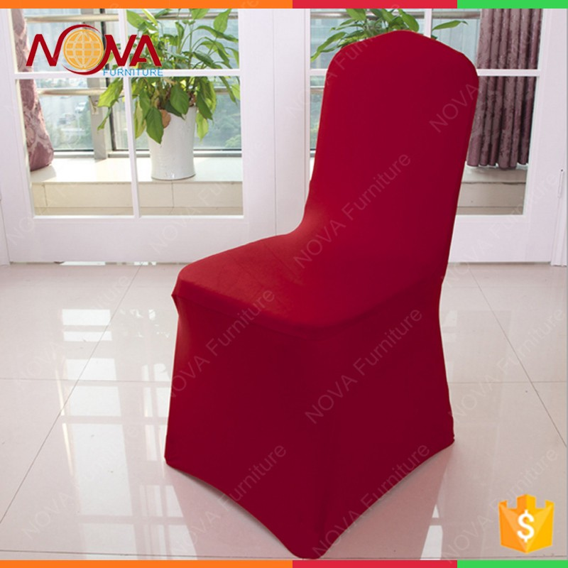 wholesale hotsale lycra cheap used 100% polyester spandex stretch fancy hotel wedding banquet event party chair cover for sale