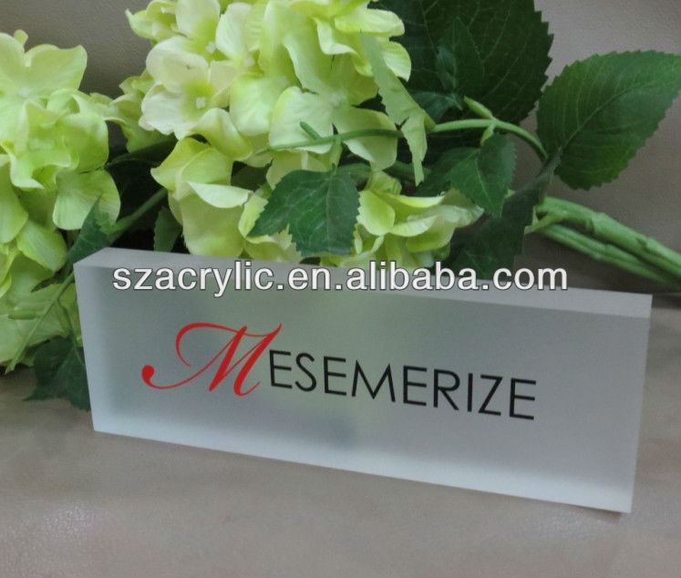 Acrylic Solid Plexiglass Block Shop Sign Block Acrylic Glass Block