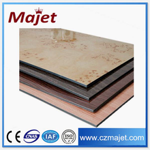 aluminum screen room building materials High Quality Wooden Grain Aluminum Panel insulated aluminium wall panels