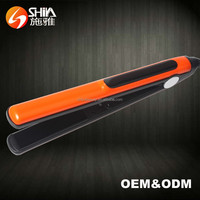 LCD private label flat iron power cord professional best creative ceramic coating protein electric hair straightener price