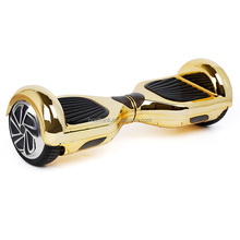 New product Chrome 2 wheel electric scooter smart hoverboard lamborghini design with samsung battery
