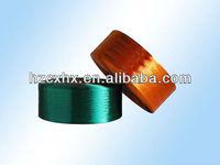 Polyester yarn POY for weaving yarn manufacturer Hangzhou China 150D/48F dyed yarn