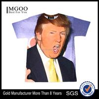 MGOO Fashion OEM Custom Mens Printing T-shirts Big Quantity Men Tshirts Polyester Sublimation Printed Clothes