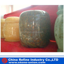 indoor decorative stone funeral urns supplier