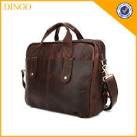 Custom Handbag Classical Mens Genuine Leather Messenger Bags