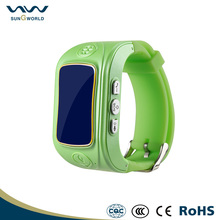Phone call factory OEM watch GPS tracking device for kids