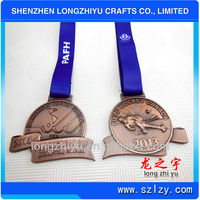High quality european hockey medals & medallions metal soft enamel medals /badges / lapel pins/souvenir coins manufacture