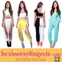 Wholesale sexy transparent jumpsuits for women 2014