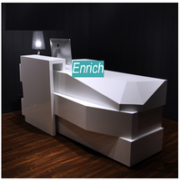 ENRICH modern style floor type locker boutique cashier counter design