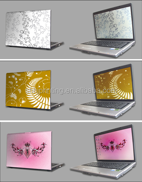Full body computer removable cover vinyl decorative skin laptop cover sticker