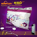 Christmas bedding sets Comforter set! CE SGS ROHS!sound speaker Silk sounding pillow/speaker pillow for iphone & ipad
