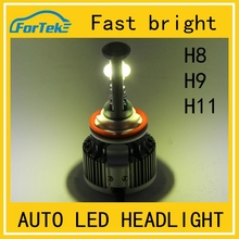 High power wholesale ! 30w 3000LM H8/H9/H11 Single Beam led auto headlight for cars New arrival