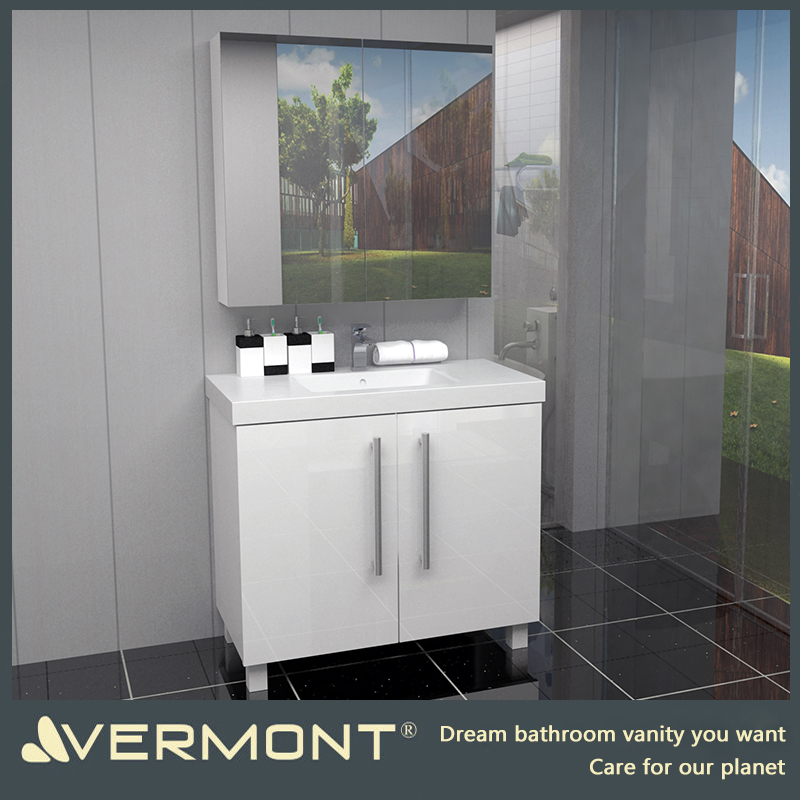 2017 Modern design sanitary ware bathroom vanities cabinet
