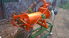 new model for animal manure drying machine/dung dewater machine/solid liquid separator