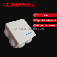 waterproof plastic enclosure box plastic square junction box electrical using