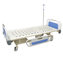 Manual hospital bed two functions high quality and cheap hospital beds for sale