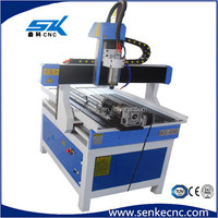 Single/multi heads carving wood/surfboard shaping machine cnc router machine 6090 with rotary axis
