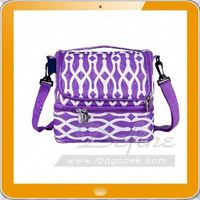 high quality 600d polyester insulated cooler lunch bag