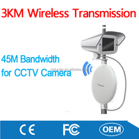 Factory Made 3KM Long Distance Transmission for CCTV Wireless Camera Kit Surveillance Security System
