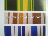 PVC stripe Tarpaulin 0.30mm
