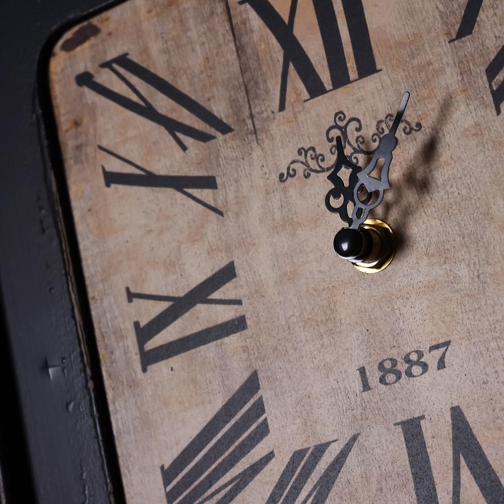 빈티지 콜라주 나무 사진 프레임 시계 벽 장식-액자 -상품 ID ...