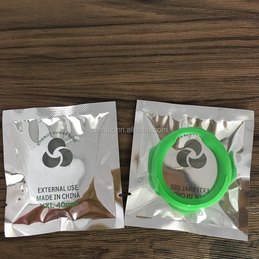 Scalar Energy Power Ring For Condom With Logo Design