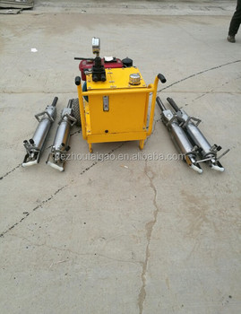 Rock division force outdoor hydraulic stone splitter for sale manual stone splitter