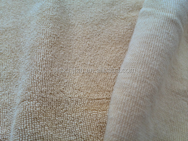 organic bamboo terry towel fabric