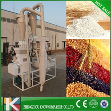 Food process maize corn grinding hammer mill production wheat flour making machine