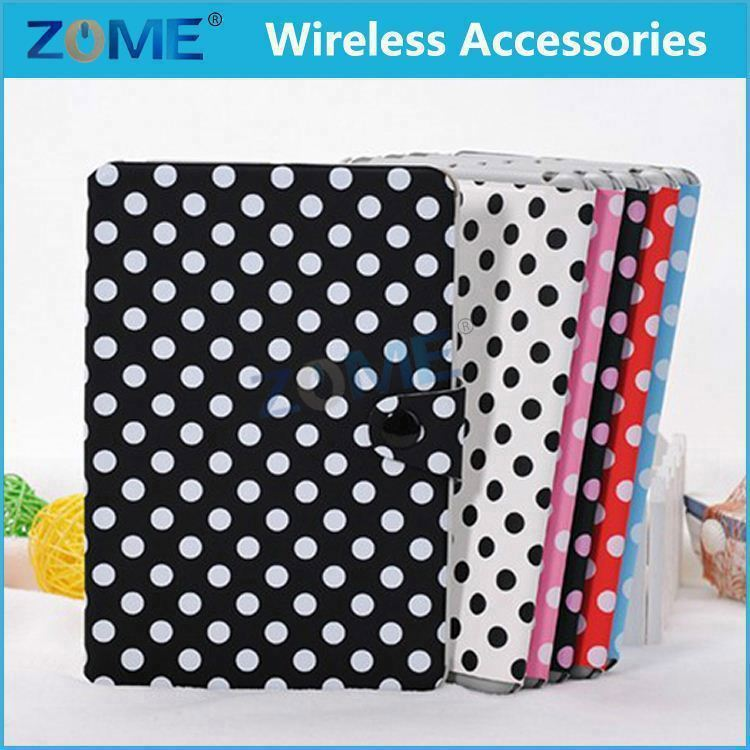 2015 New For Ipad Mini 1 Pu Slim Leather Wallet Cover With Magnetic Detachable Hard Case 2 In 1 For Ipad Mini 1